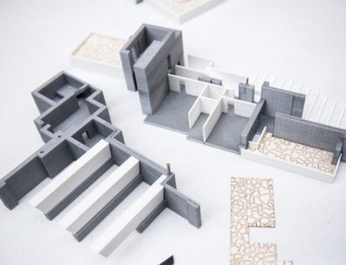 پرینت سه بعدی ماکت ساختمان