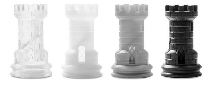 مدل های کوچک و دقیق جهت قالب گیری پرینتر سه بعدی Formlabs