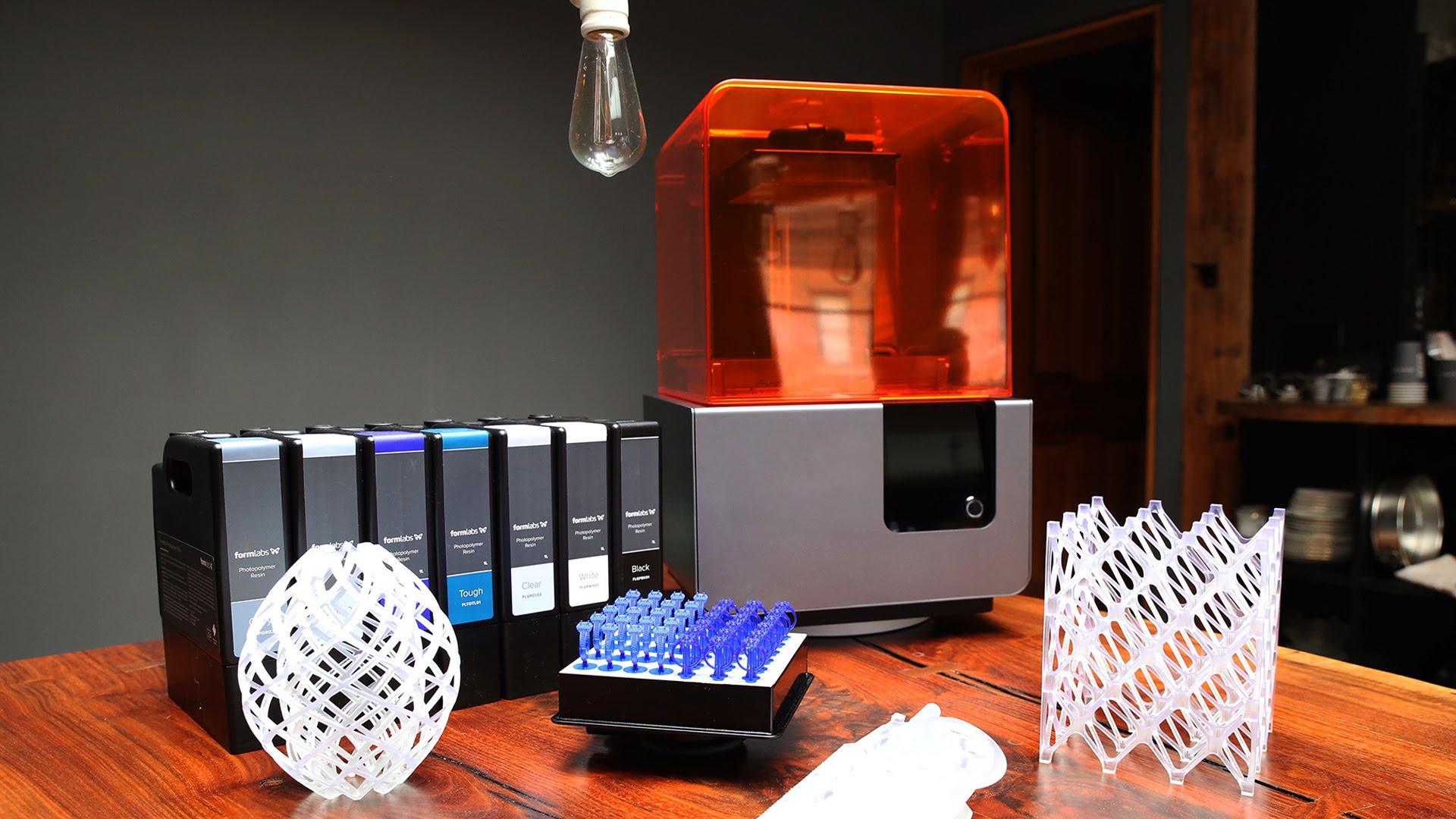 پرینتر سه بعدی Formlabs Form2