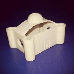 پرینت 3 بعدی مدل قلعه