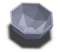مدل ظرف سه بعدی