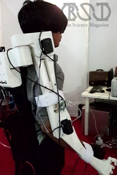 پرینت سه بعدی ربات توانبخش نکسوس