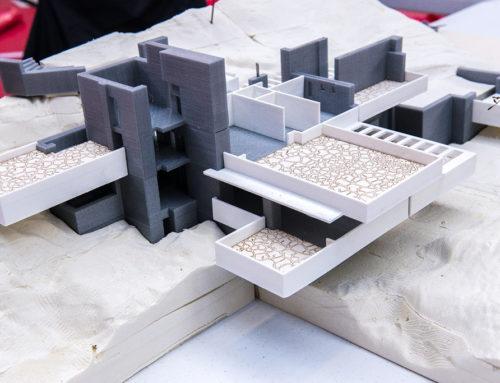 پرینت سه بعدی ماکت ساختمان ۲