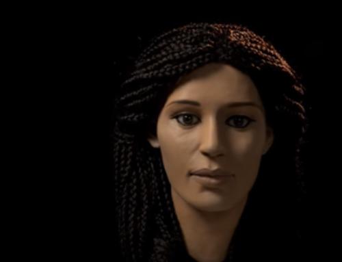 بازسازی صورت یک مومیایی مصری توسط پرینت سه بعدی