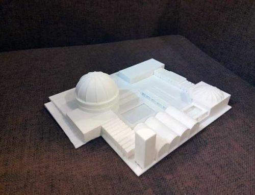 پرینت سه بعدی ماکت ساختمان ۳