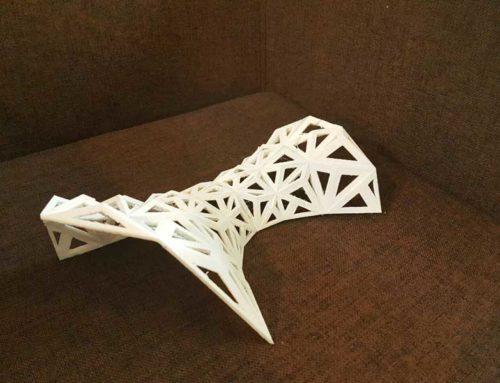 پرینت سه بعدی ساختار پیچیده