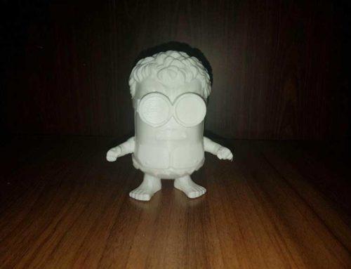 پرینت سه بعدی شخصیت های انیمیشن