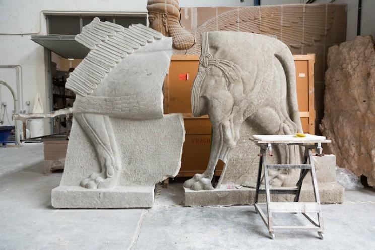 مجسمه باستانی