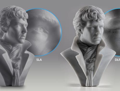 مقایسه پرینتر سه بعدی SLA و پرینتر سه بعدی DLP