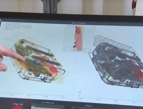 اسکنر های سه بعدی برای فرودگاه ها