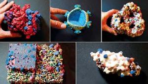 موارد استفاده پرینترهای سه بعدی غذا