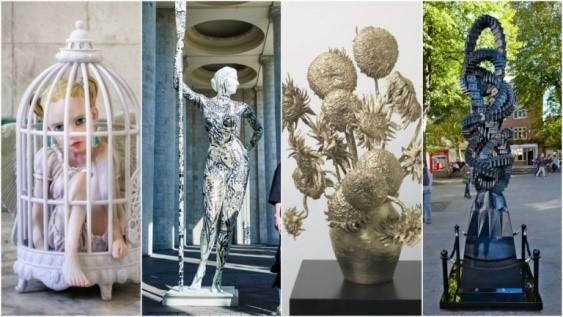 مجسمه ساخته شده با پرینت سه بعدی-10 مورد از شگفت انگیز ترین قطعات هنر